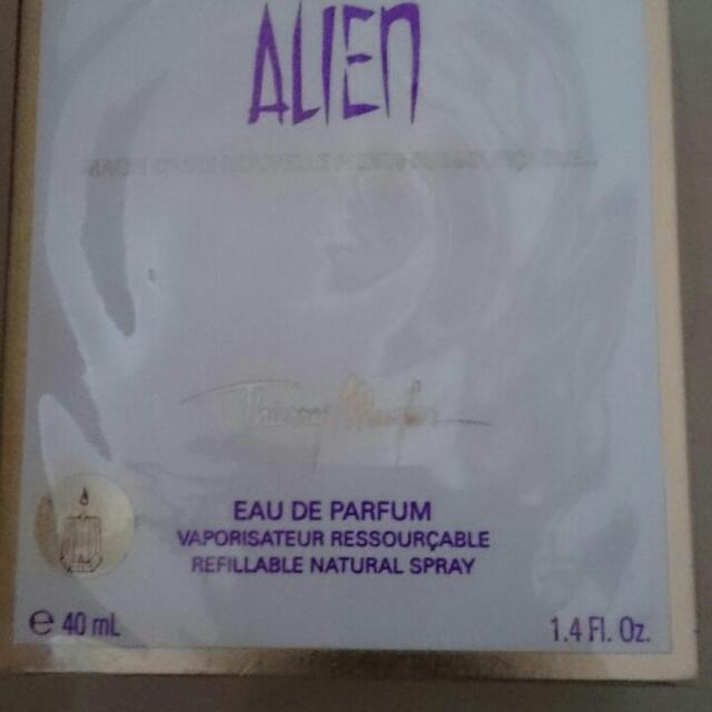 Authentic 40ml Thierry Mulger Alien EDP Perfume