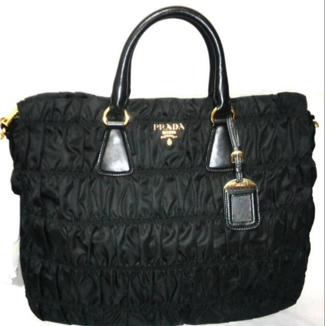 ... discount code for new prada tessuto gaufre tote b4433m luxury on  carousell f9e6e 5c0c4 24680bb74d38d