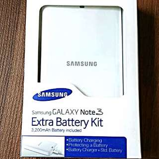 Samsung Note 3 Extra Battery Kit