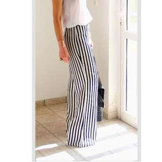Striped Palazzo / Flare Pants (instocks!)