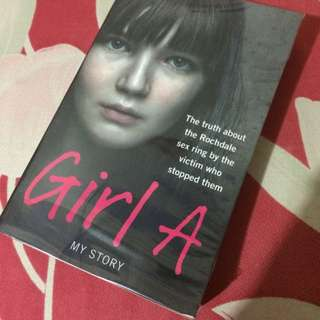 (U.P $15.95) NOW $10! My Story ; GIRL A