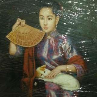 Large Antique Painting