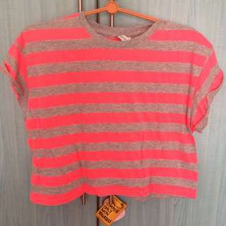 H&M Neon Crop Top (SOLD)