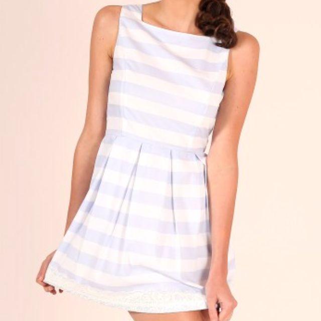 FLAUNT Pretty Little Things Dress - Stripe