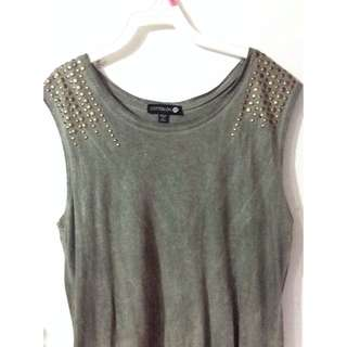 studded muscle tank