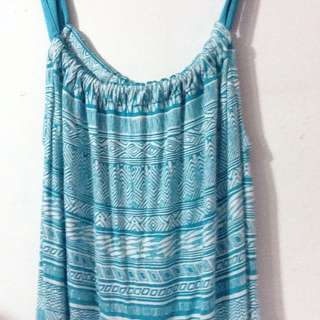tribal strapped tank