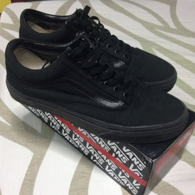 a084196bf132 Vans Old Skool Vegan Black black
