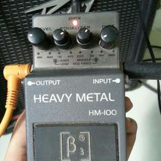 Beta Aivin Heavy Metal Distortion Pedal