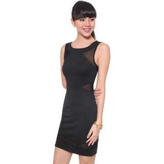Love Bonito Dailyn Mesh Dress XS