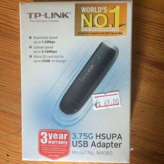 TP-LINK 3.75G HSUPA USB ADAPTER