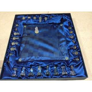 English Chess set (Glass)