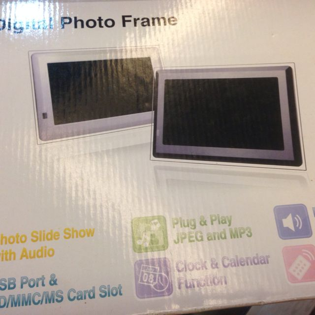 7 Inches Digital Photo Frame Electronics On Carousell