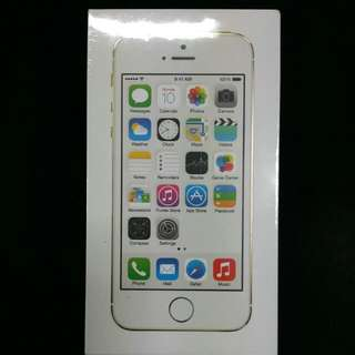 BNIB Brand New Apple IPhone 5s Gold 16GB