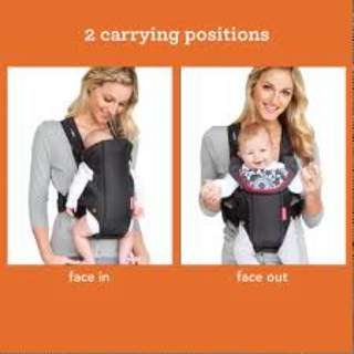 Preloved - Infantino Swift Classic Carrier Black
