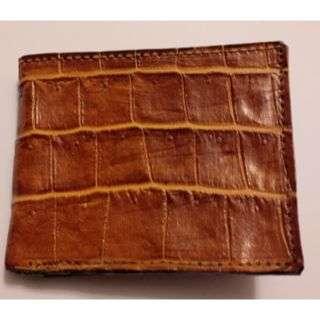 Men's Crocodile Skin Wallet