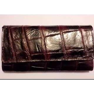 Women's Crocodile Skin Wallet