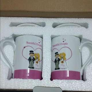 2 Pc Mug Set