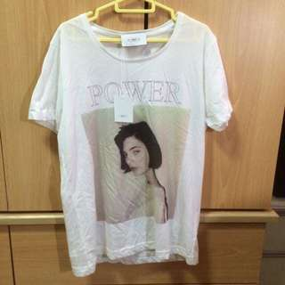 April 77 POWER t-shirt