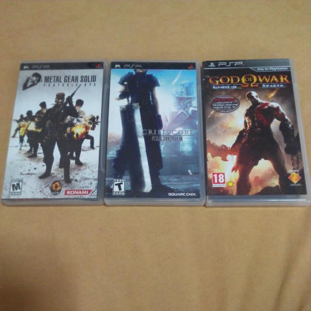 (Reserved) 3 Psp Games (Umd) For $10