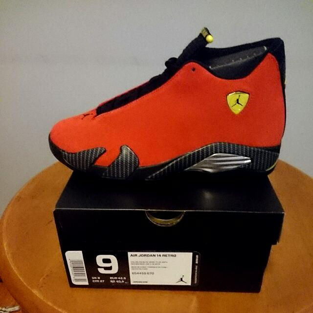 "(CLOSED) Air Jordan Retro 14 ""Ferrari"" Limited Edition! Pre Order!"