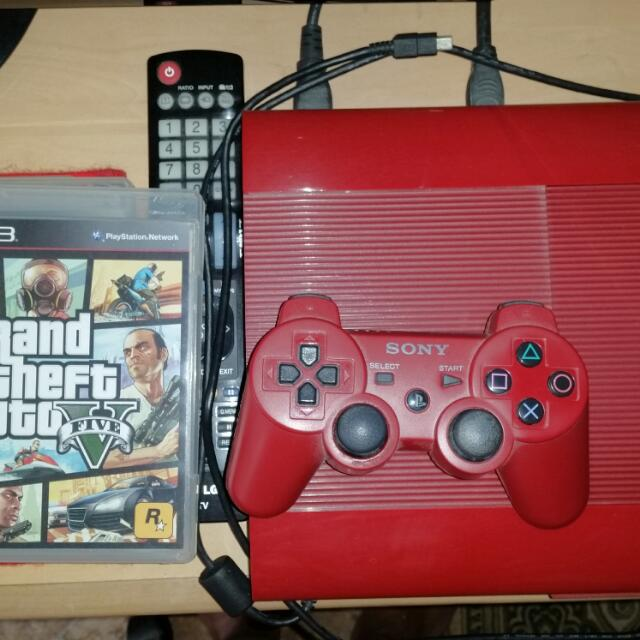 PS3 500gb Red EDITION