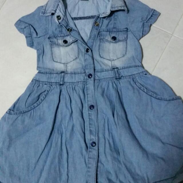 Toddler Zara Denim Dress