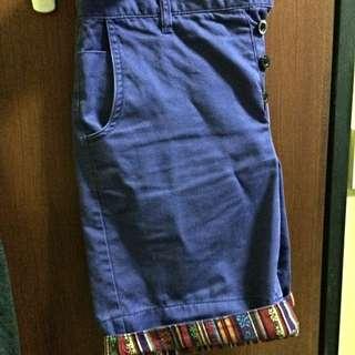 Tribal Fold Shorts