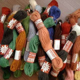 Pure Wool Threads
