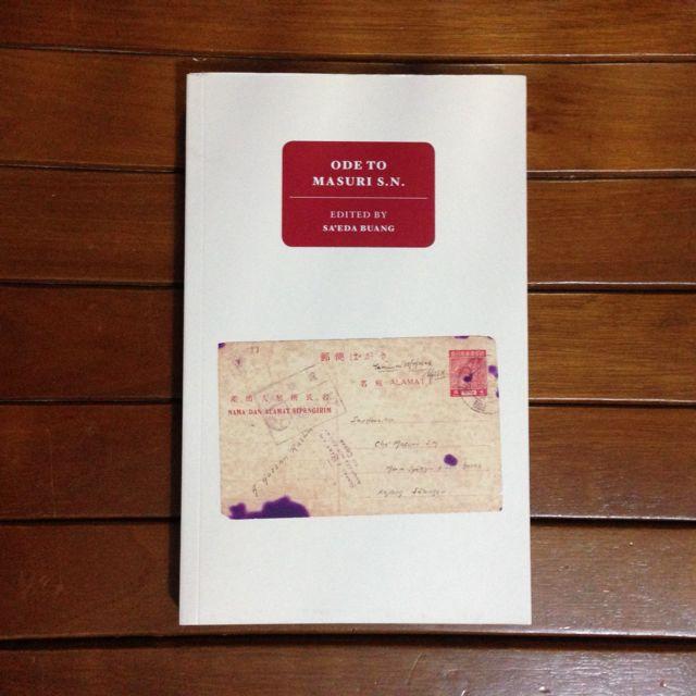 Ode To Masuri S.N. edited by Sa'eda Buang