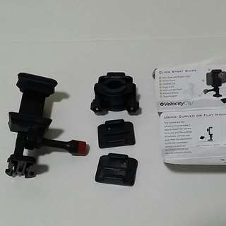 RESERVED; Velocity Clip: Smartphone Bicycle Mount