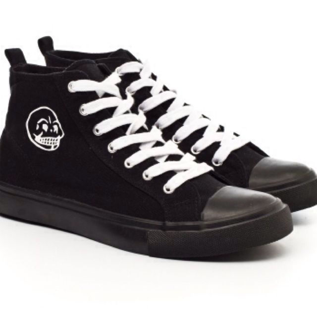 Cheap Monday High Cut Sneakers, Women's