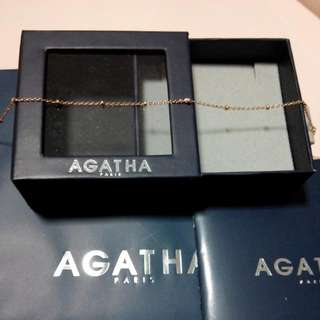 BNIB Authentic Agatha Anklet