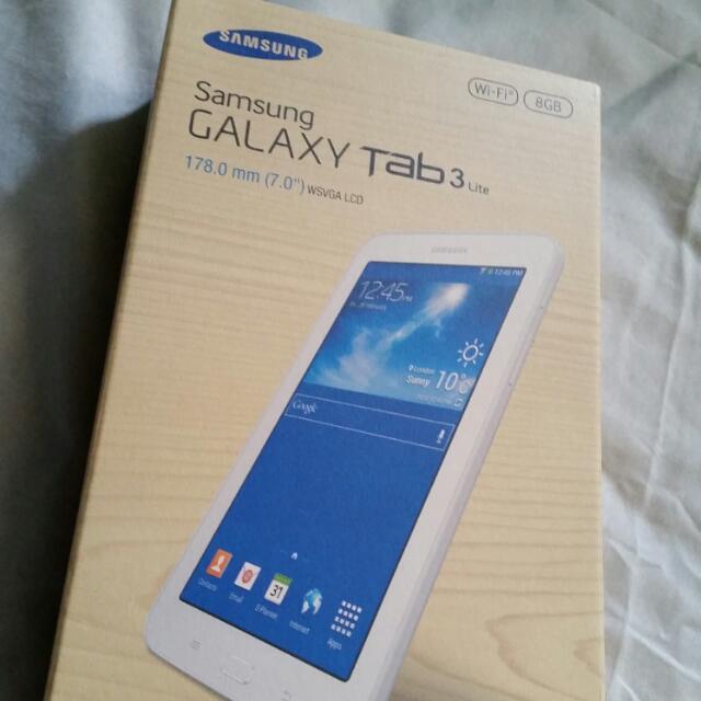 Samsung Galaxy Tab3 Lite 8gb