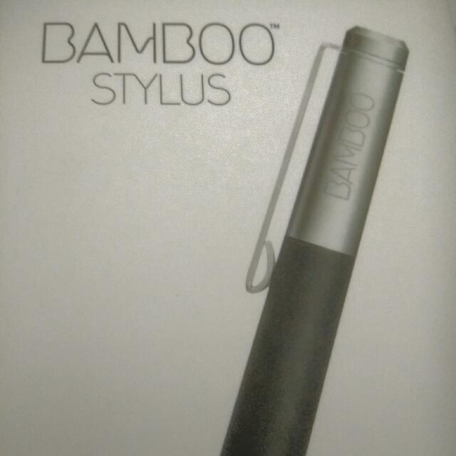 Bamboo Stylus For iPad BNIB