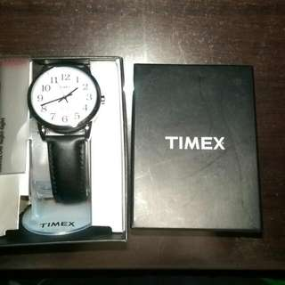 Brand New Timex Leather Watch