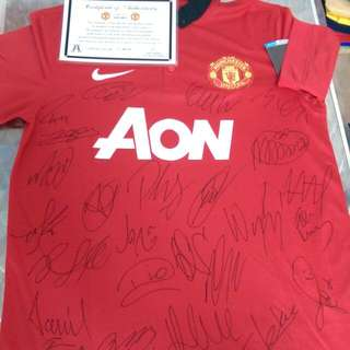 Brand New Manchester United 2013/2014 Jersey (Authentic)