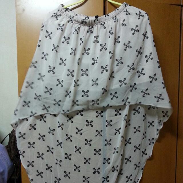 BNWOT H&M Asymmetrical Skirt