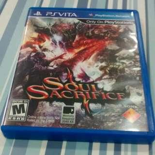 PS Vita Soul Sacrifice