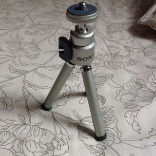 Original but old Sony camera small stand