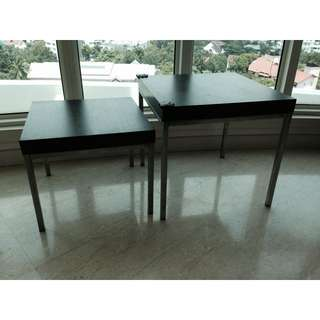 Set Of Low Tables To Give Away