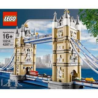 BNIB LEGO EXCLUSIVE TOWER BRIGDE