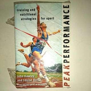 Peak Performance Brandnew Book