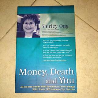 Money, Death And You Brand New Book