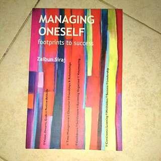 Managing Oneself Brand New Book