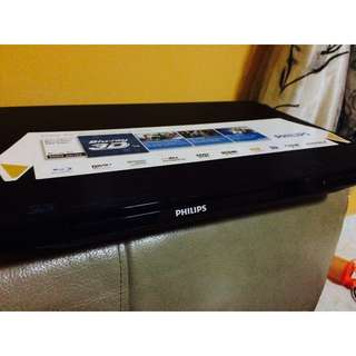 Philips Blu-Ray And DVD Player.