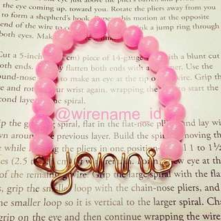 WIRENAME BRACELET