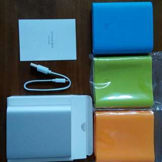 Authentic XiaoMi 10400mAh power bank (Free Cover!)