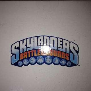 LG SKYLANDERS BATTLEGROUNDS game