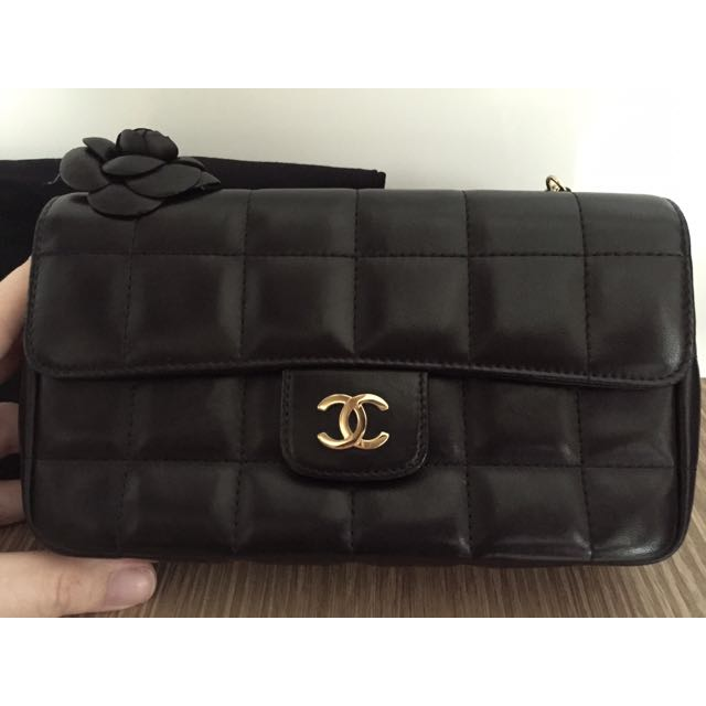 b8718ad43128 Chanel Camellia Flower Mini Flap Bag, Luxury on Carousell
