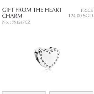 Pandora - Gift From The Heart Charm